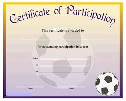 soccer awards templates printable sports certificates sampleprintablecom free basketball