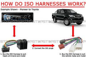pio iso wiring harness aftermarket adaptor cable plug lead wire image is loading pio iso wiring harness aftermarket adaptor cable plug