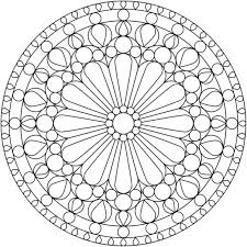 Small Picture Printable 45 Simple Mandala Coloring Pages 5457 Simple Mandala