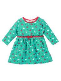 Beebay Size Chart Girls Green Cotton Dresses