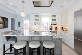 Superior Silver Spring MD Open Floor Plan Kitchen Design With Dura Supreme Custom  Cabinetry Craftsman Door With A Cocoa Brown Finish And A Water Fall Quartz  Counter ... Home Design Ideas