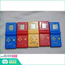 Máy chơi game cầm tay xếp hình - đồ chơi xếp hình brick game (hàng mới)  (đơn hàng từ 99k freeship) - Sắp xếp theo liên quan sản phẩm