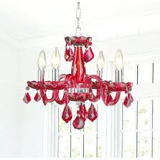 red crystal chandelier clarion 4 light chrome finish strawberry red crystal chandelier royal ruby red crystal