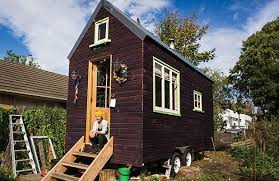 Small Picture Lily Duvalls Tiny House Exterior Tiny Houses Inspiration