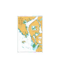 British Admiralty Nautical Chart 4937 Prince Rupert Harbour