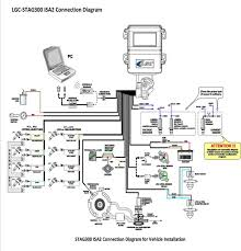 lpg injection system lgc stag300 isa2 wiring