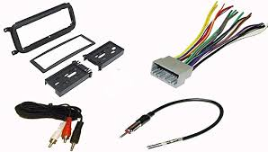 radio stereo install dash kit wire harness antenna adapter for image unavailable