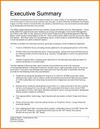 Resume Executive Summary Finance Example Sales Statement Examples