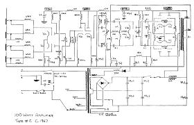 vintage schematics marshall