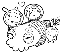 Small Picture The Octonauts Coloring Pages