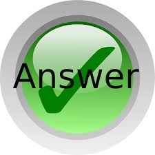 Answer Clip Art at Clker.com - vector clip art online, royalty free ...