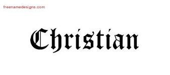 Name Tattoo Designs Christian Printable Free Name Designs