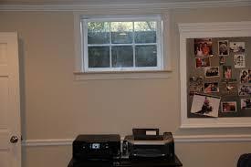 basement windows interior. Installing Trim Around A Plastered Window Well Basement Windows Interior
