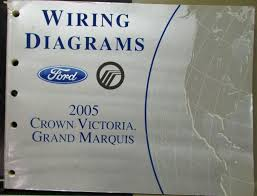 ford mercury electrical wiring diagram manual crown vic grand marquis 2005 ford mercury electrical wiring diagram manual crown vic grand marquis