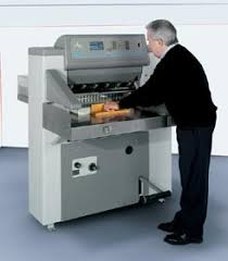 polar has taken this fact into account and has begun offering the polar 66 cutting machine pictured on its german home page polar cutting machine