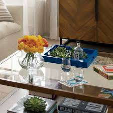Coffee table tray display