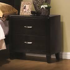 Living Spaces Bedroom Furniture Nacey Collection 201961 Black Bedroom Set Coaster Furniture