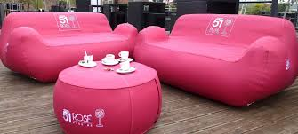 blow up furniture. Compact, Easy To Manoeuvre And Effortless Store, Inflatable Furniture Are The Perfect Interior Blow Up