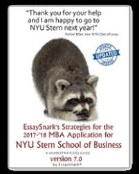 nyu stern strategy guide