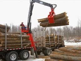 prentice forestry products knuckleboom loaders self loaders