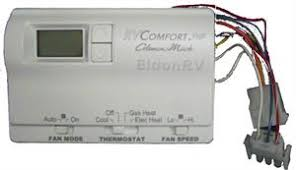 thermostat digital 9 wire 6536a3351 for coleman 2 stage heat pumps coleman thermostat 6536a3351 and oinout or wiring diagram