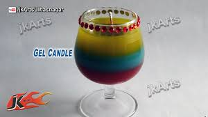 view in gallery layered cocktail gel candle