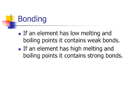 Higher Chemistry Unit 1(c) Density, melting points and boiling ...