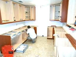 can you replace kitchen cabinets without replacing countertop replace kitchen how to install kitchen replacing kitchen