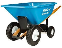 big 4 wheeler heavy duty wheelbarrow
