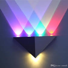 led wall lamps indoor wall light 3w 4w 5w 6w 8w lamps colorful stage lights ktv