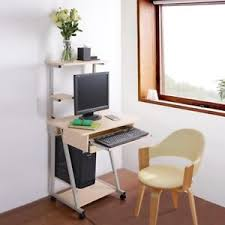 tower computer desk. Mobile Computer Desk Tower Printer Shelf Laptop Rolling Table Study Home Office