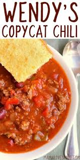 wendy s chili copycat recipe how to make wendy s style chili