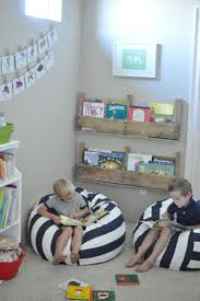 Great tips! comfy seats, varied and plentiful book storage. Pallet  ShelvesRustic ShelvesPlayroom ...