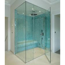corner shower glass