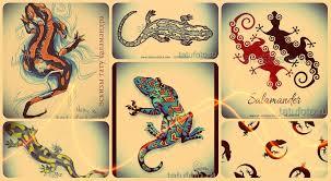 эскизы тату саламандра интересные рисунки для тату саламандра