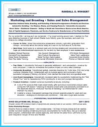 Car Sales Resume Examples Career Objective Executive Assistant