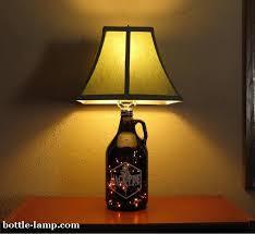 jack pine beer growler table lamp