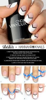 Best 25+ Chevron nail tutorials ideas on Pinterest | DIY nails ...