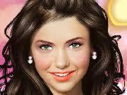 kim kardashian make up play nina dobrev make up game