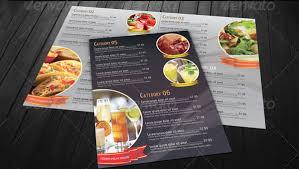 Resturant Menu Template Food Menu Template 36 Free Word Pdf Psd Eps Indesign Format