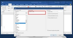 Microsoft Word Update All Fields How To Insert An Image In Ms Word That Updates Automatically