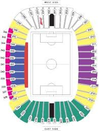 Bc Place Seating Chart Bc Place Whitecaps Seating Map Vancouvers Best Places