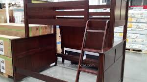 Bunk Bed With Couch And Desk Furniture Costco Bunk Beds Full Size Bunk Bed With Desk