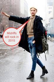2016 winter street style pea coat navy model