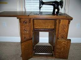 antique singer sewing table vine singer sewing machine in ornate drawing room cabinet antique singer sewing