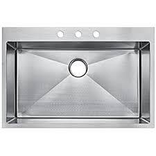 Starstar 30 Inch Topmount  Drop In Stainless Steel Single Bowl 30 Inch Drop In Kitchen Sink