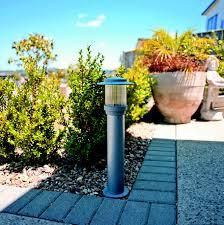 alpha lighting outdoor exterior garden light bollard du4510 duralite