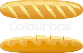 loaf of bread vector. Interesting Vector Bread Vector Illustration Isolated On White Background  Stock Vector  Colourbox In Loaf Of O