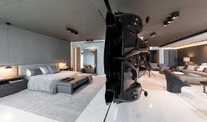 Apartment Interior Design Inspiration Exclusive Apartment Features A Rare Pagani Zonda R As A Room Divider