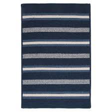 Striped area rug Lynx Salisbury Blue Striped Area Rug Wayfair Colonial Mills Salisbury Blue Striped Area Rug Reviews Wayfair